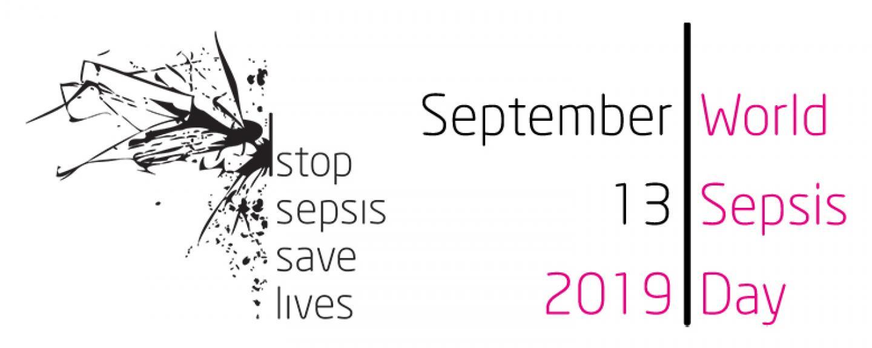 World Sepsis Day 2019 logo - Stop Sepsis, save lives