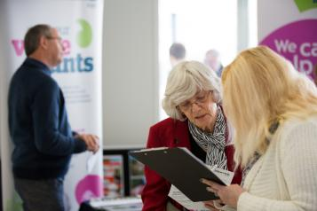 Local Healthwatch speaking to the public