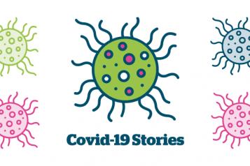 Covid-19 stories logo