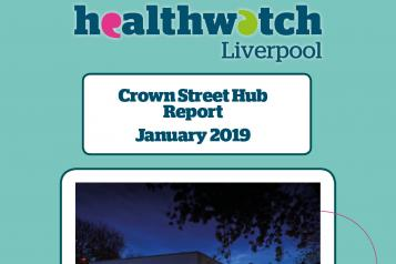 Front Cover of Crown Street Hub Report