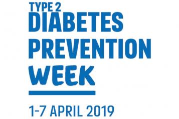 Diabetes Prevention week 1 April to 7 April 2019
