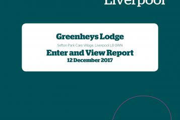 Image of Greenheys Lodge Enter and View Report
