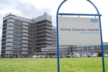image of Aintree Hospital exterior