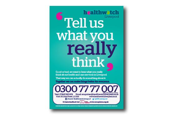 image of Tell Us What you Really Think Poster