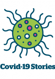 Covid-19 stories logo