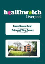 Image of front cover of James Nugent Court Enter and View Report