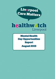 Image of front page of Mental Health Day Opportunities Report
