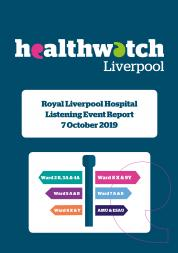 Image of front cover of Royal Liverpool Hospital 2019 Report