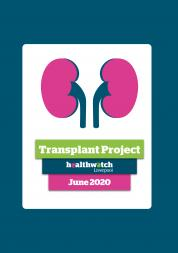 Image of front cover of Transplant Report