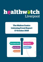 Image of front cover of the Walton Centre 2019 Report
