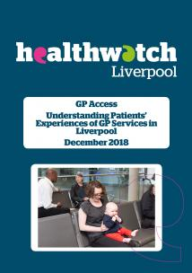 image of front cover of GP Access Report