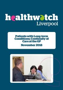 image of front cover of Continuity of Care at the GP report