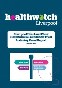 Front page of Liverpool Heart and Chest Hospital report 2018