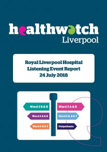 Front Cover of the Royal Liverpool Hospital Report