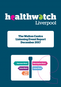 Front Cover of the Walton Centre Report