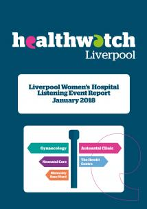 Image of front cover of Women's Hospital Report
